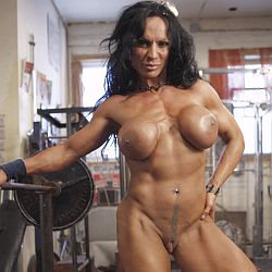 Female bodubuilder and muscle women - free porn