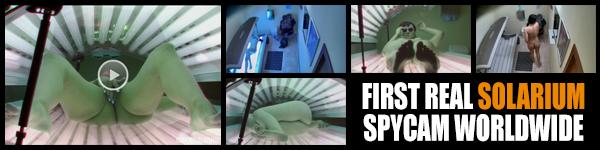 Czech Solarium - nagrania z ukrytej kamery w solarium