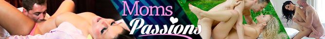 Moms Passion - filmy porno z zajebistymi 30-letnimi mamuśkami